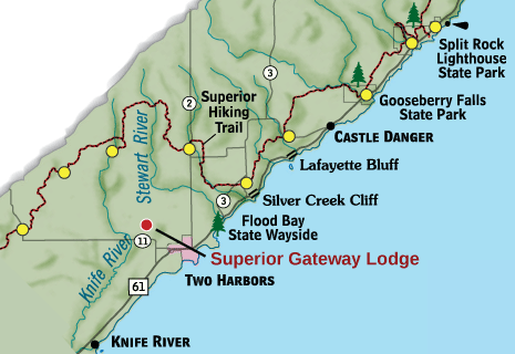 Superior Hiking Trail Section 1